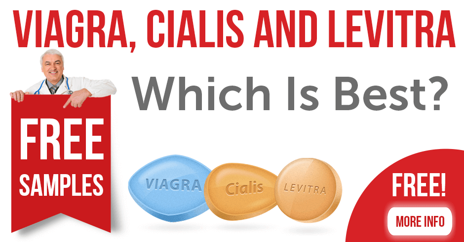 Viagra, Cialis and Levitra — Which Is Best?