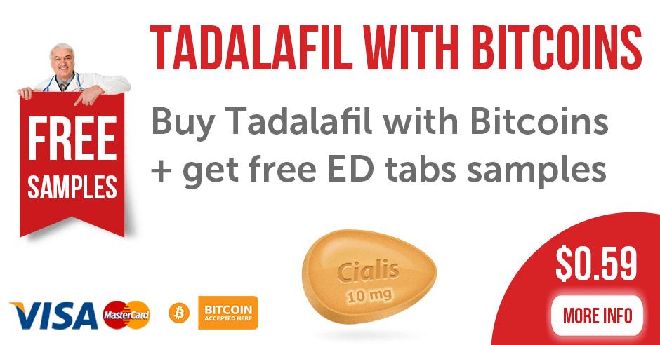 Tadalafil with Bitcoins
