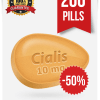 Buy Cialis 10 mg 200 tabs online  | BuyEDTabs