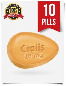 Generic Cialis 20 mg x 10 pills | BuyEDTabs