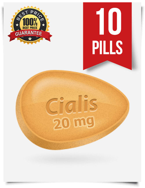 Generic Cialis 20 mg x 10 pills | BuyEDTabs
