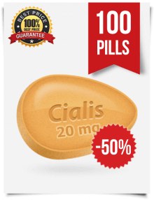 Generic Cialis 20 mg x 100 pills | BuyEDTabs