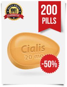 Generic Cialis online 20 mg x 200 pills | BuyEDTabs