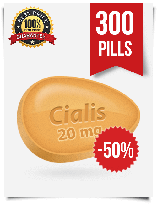 Cheap Cialis 20 mg x 300 pills | BuyEDTabs