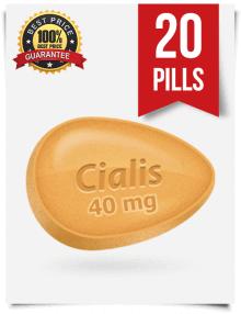 Cialis 40mg online 20 pills | BuyEDTabs