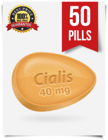 Cialis 40mg online 50 pills | BuyEDTabs