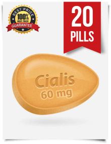 Buy generic Cialis 60 mg 20 pills online | BuyEDTabs