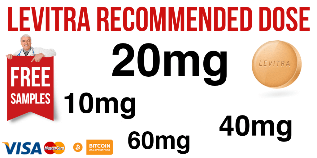 Levitra Recommended Dose