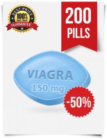 Viagra 150mg 200 tabs online | BuyEDTabs