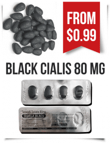 Buy Black Cialis 80 mg tadalafil pills | BuyEDTabs