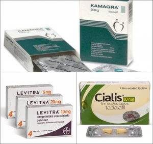 Cialis, Kamagra and Levitra