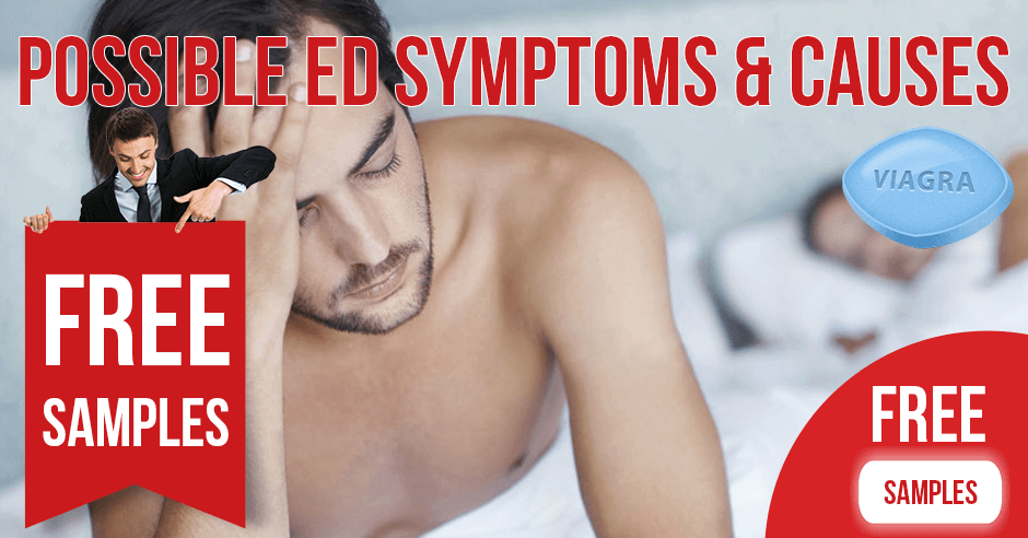 Possible ED symptoms and causes | BuyEDTabs