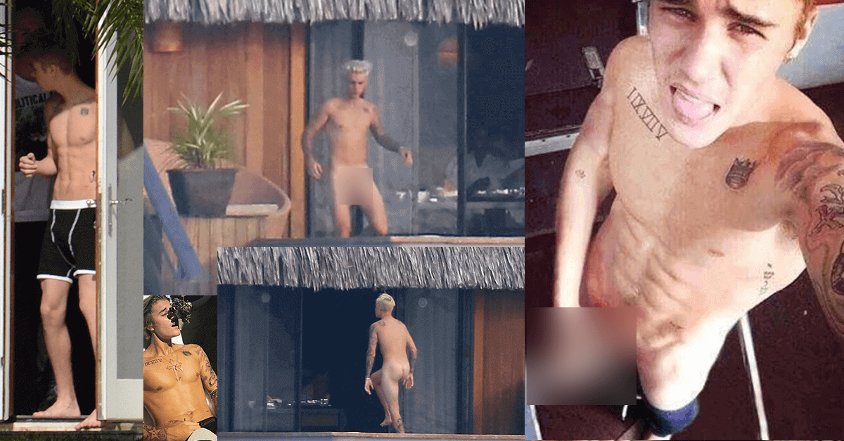 Justin Bieber dick leaked photos scandal