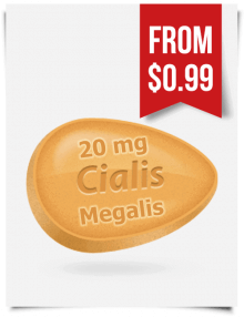 Megalis 20 mg | BuyEDTabs