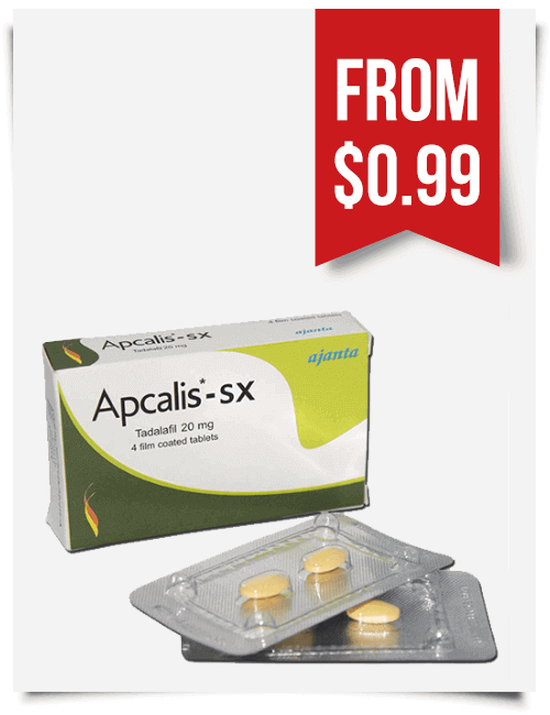 Apcalis SX 20 mg tablets | BuyEDTabs
