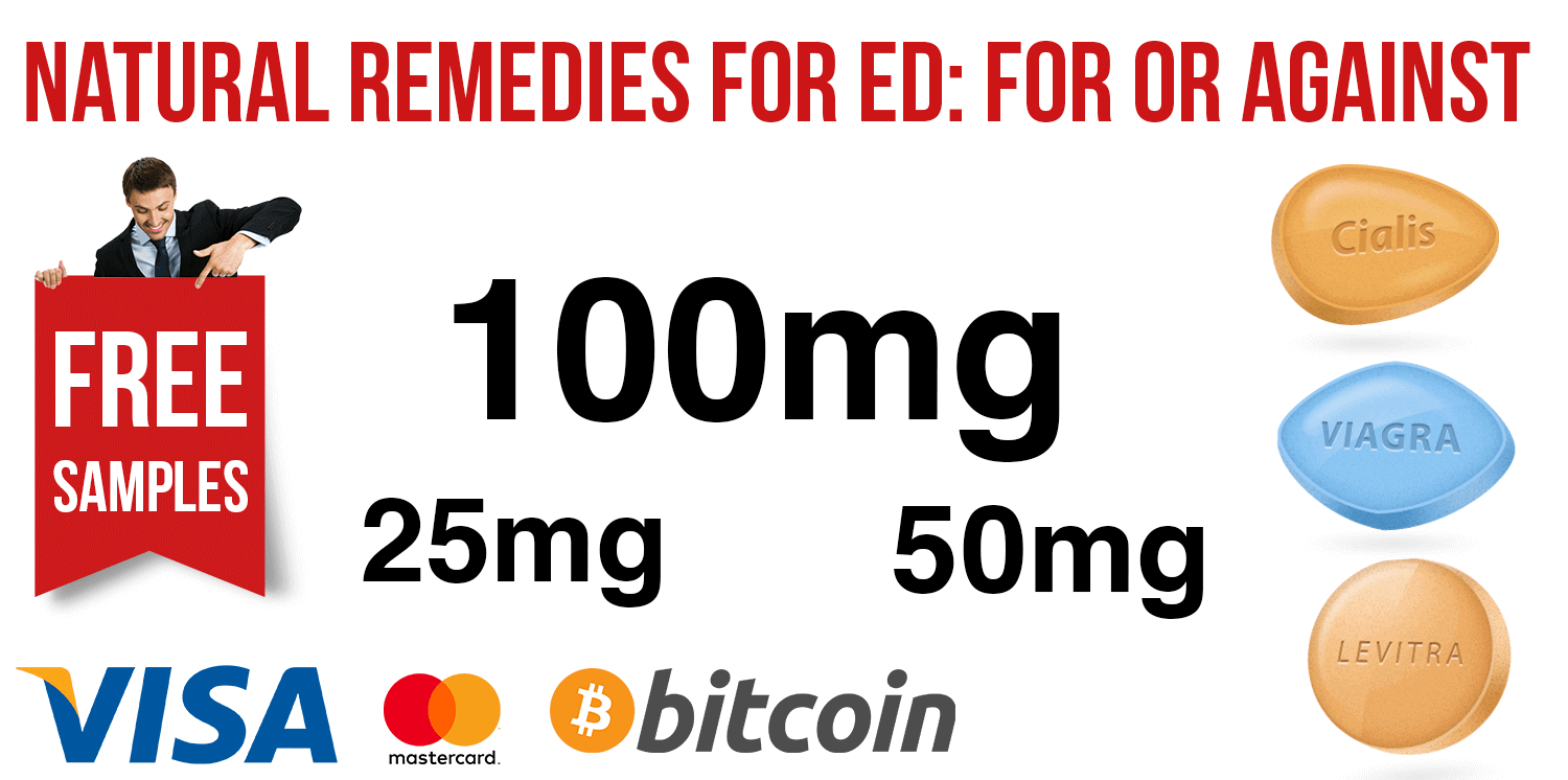 Natural remedies for ED: for or against | BuyEDTabs