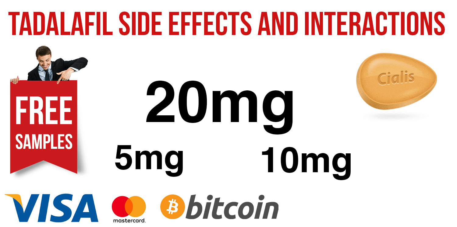 Tadalafil side effects and interactions | BuyEDTabs