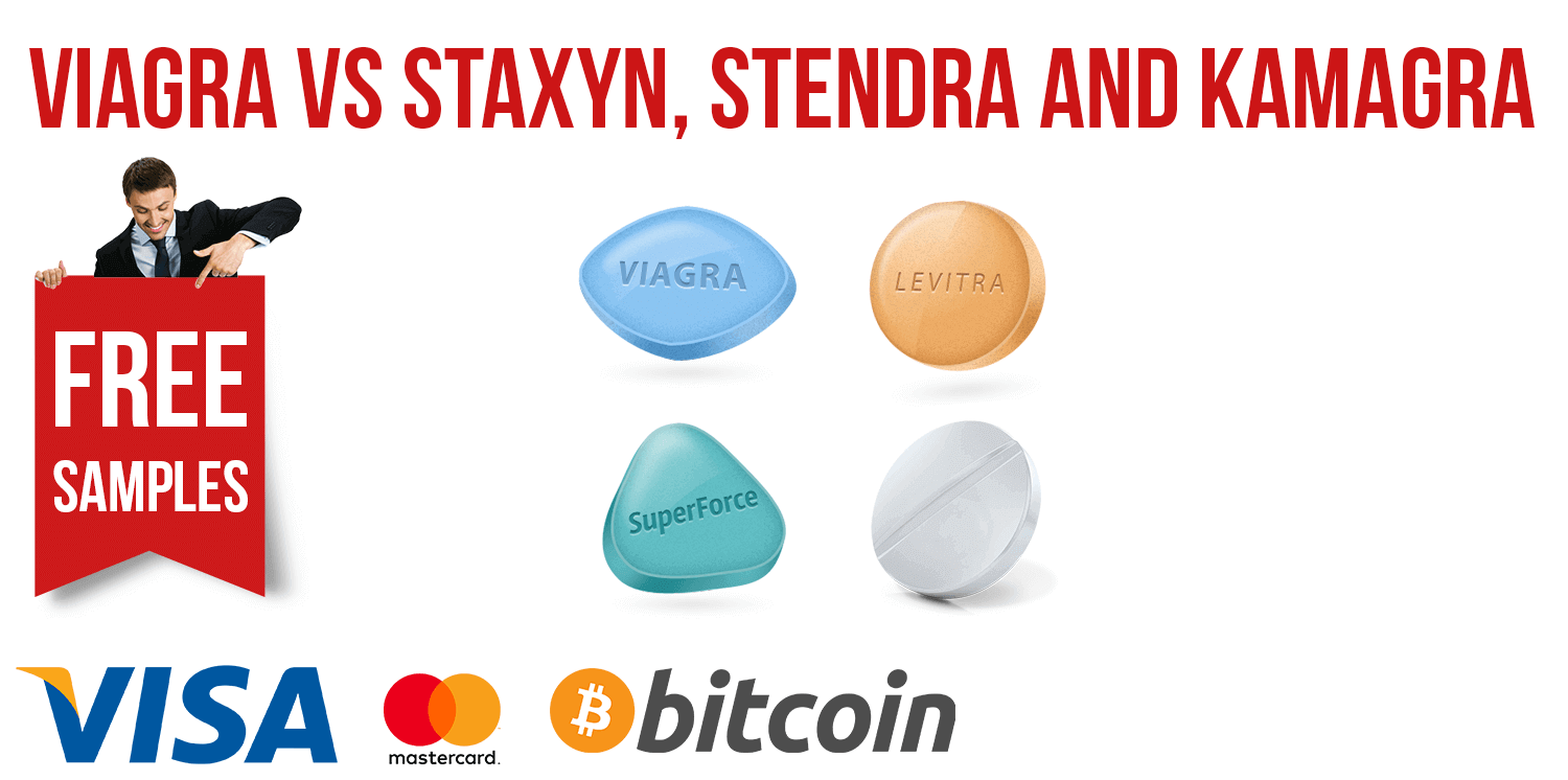 Viagra vs Staxyn, Stendra and Kamagra | BuyEDTabs