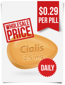 Cheap Generic Cialis 2.5 mg Wholesale | BuyEDTabs
