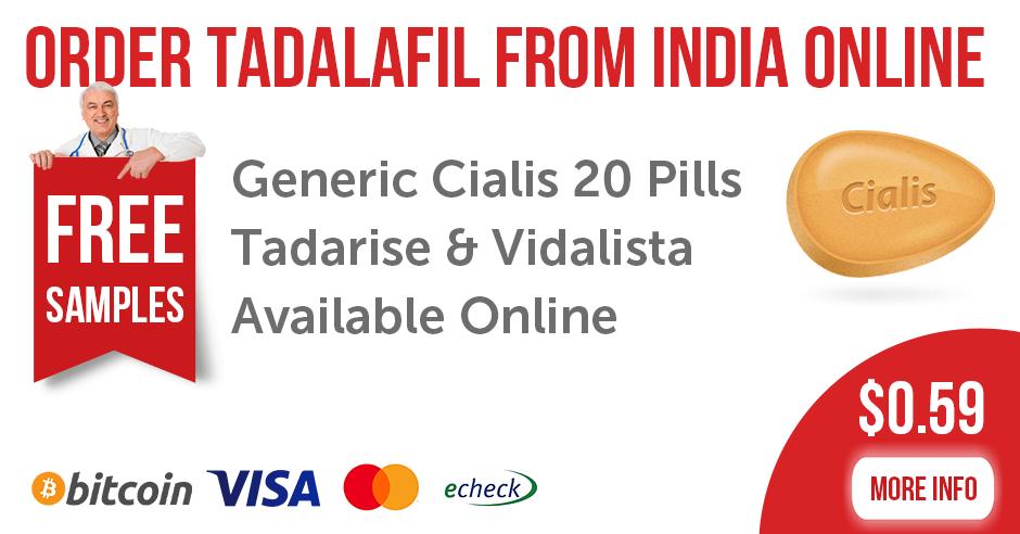 Order Tadalafil Pills from India Online